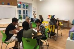 E-Kurs Gruppe beim Lernen