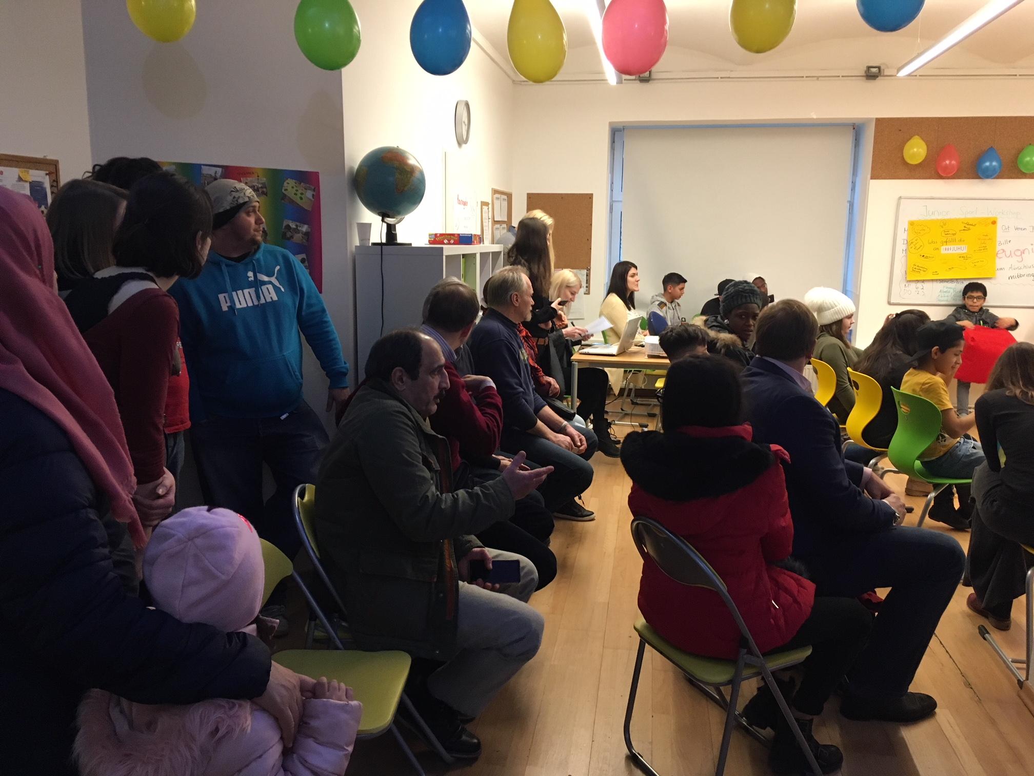 Gruppe Semesterfest Publikum