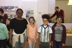 Kinder geschminkt