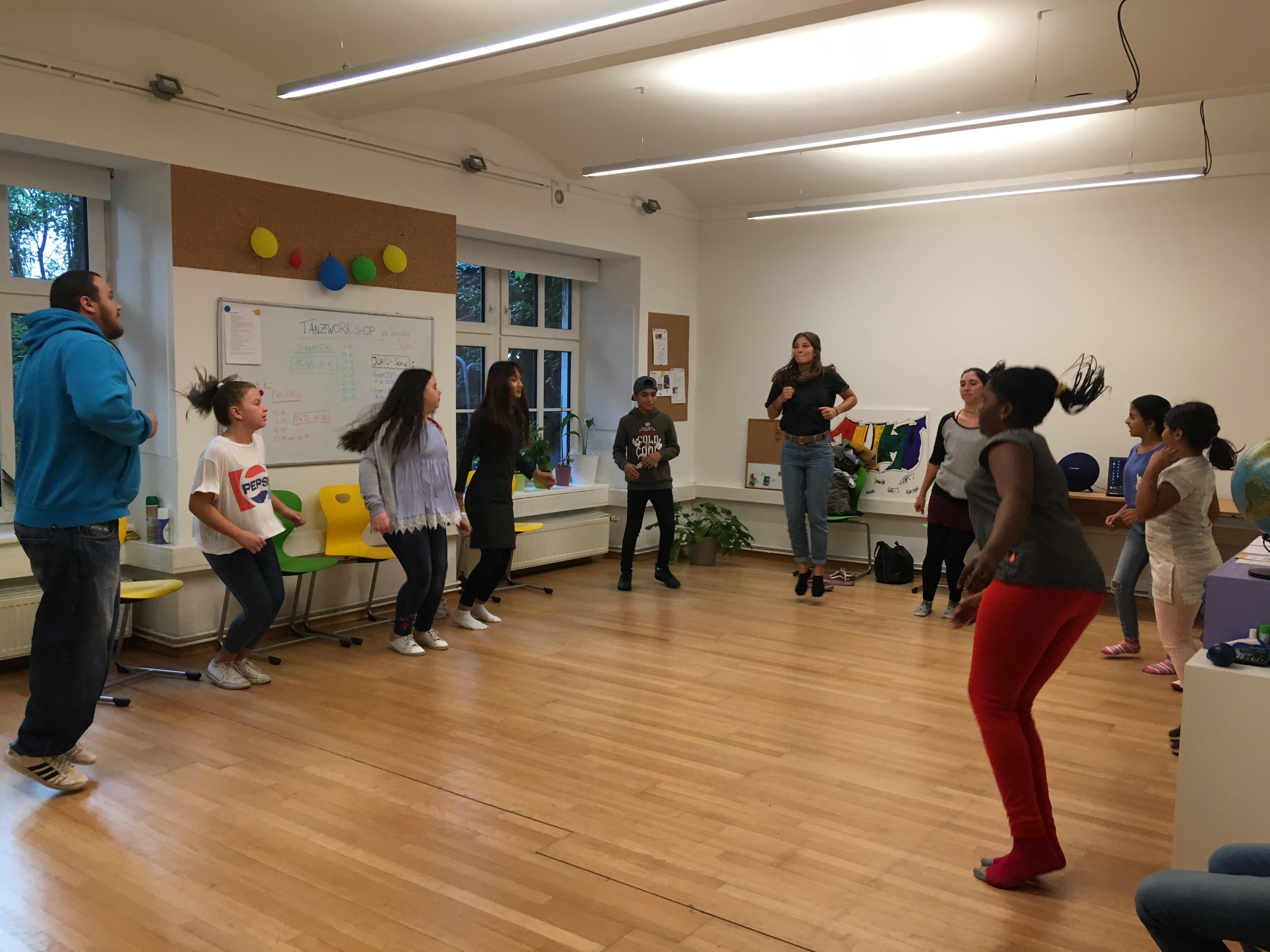 Vorstellung Tanz 3