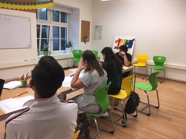Englisch Kurs Gruppe