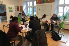 Gruppe beim Lernen SS19 2