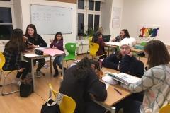 Kinder Lernbetreuung Gruppe Samra Katrin