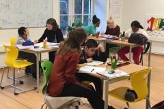 Lerngruppe Katrin Maida Marie