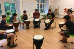 Trommeln Gruppe Shahin