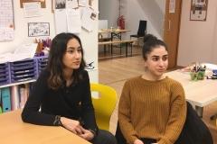 Zainab-und-Parisa-Sprachworkshop